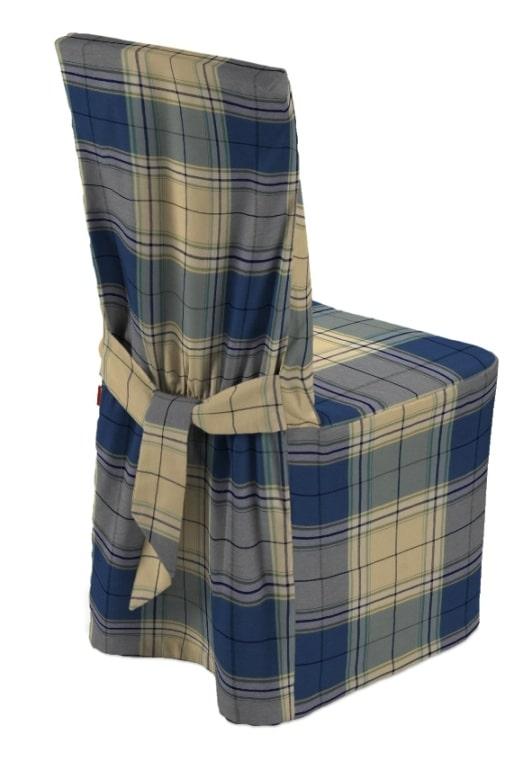 Sukienka na krzesło - Bristol; Dekoria.pl