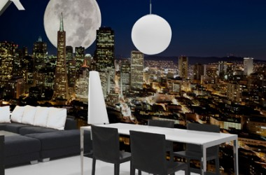 Fototapety z serii Full Moon – z motywem księżyca