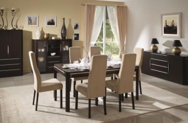 Jakie krzesła do jadalni – drewniane czy tapicerowane?