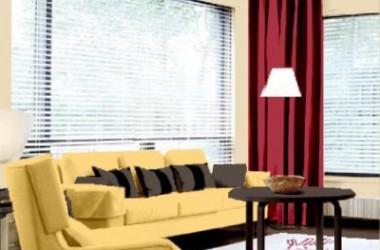 Kolor ścian do mebli wenge i jasnej sofy