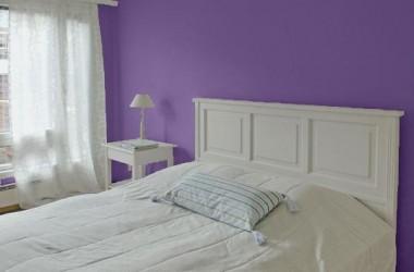 Fiolet do sypialni