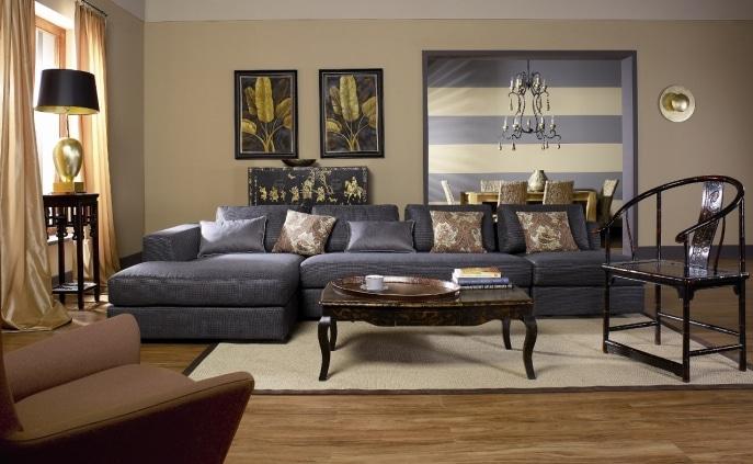 Pokój malowany farbami Dekoral Fashion Akrylit