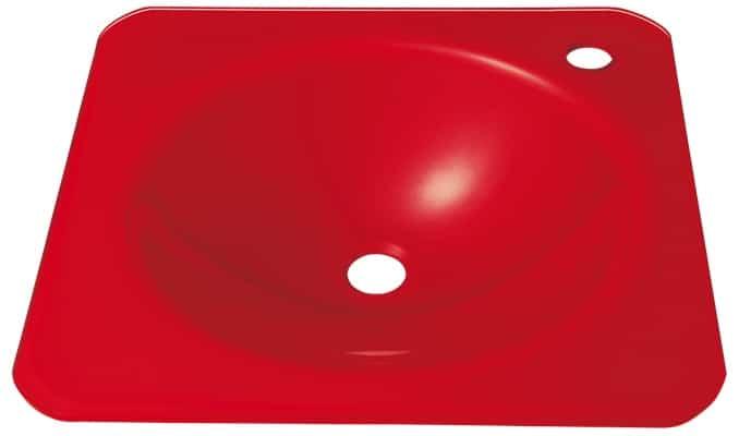 Umywalka szklana barwiona, Eliot - Leroy Merlin