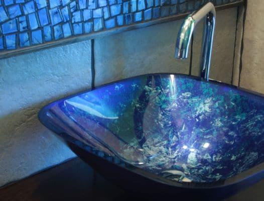 Umywalka szklana Villa Glass Studio