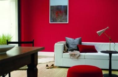 Czerwień w pokoju