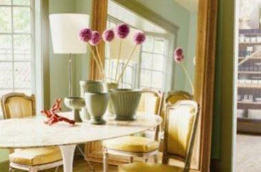 Kolor zielony w mieszkaniu – modny i relaksujący