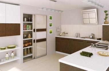 Spiżarnia w małej i dużej kuchni