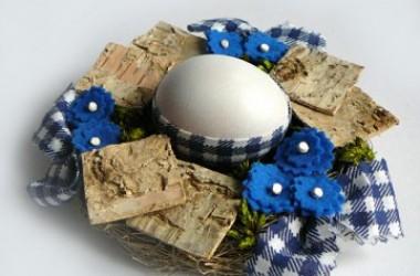 Wielkanocne dekoracje na stół