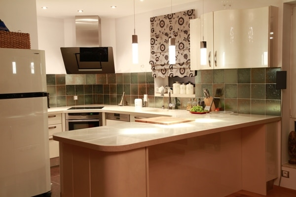 Blat kompozytowy w kuchni - prod. Bella Casa