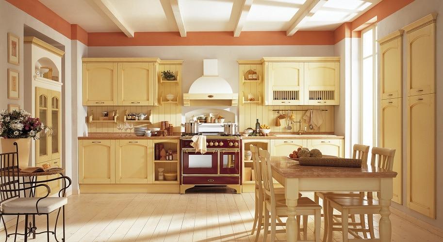 Jak urządzić funkcjonalną kuchnię  Meble kuchenne -> Tania Kuchnia Retro