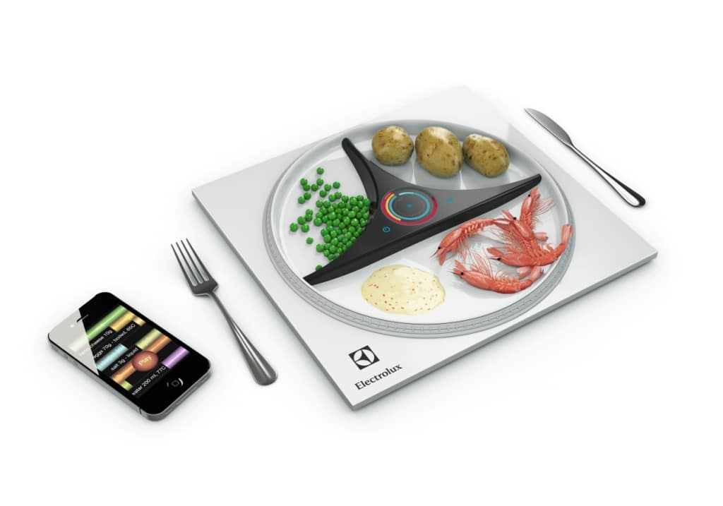 Electrolux Design Lab - projekt SmartPlate