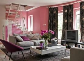 Czy różowe ściany pasują tylko do kobiecego pokoju