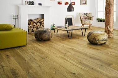 Podłogi w stylu rustykalnym – deska barlinecka Vintage