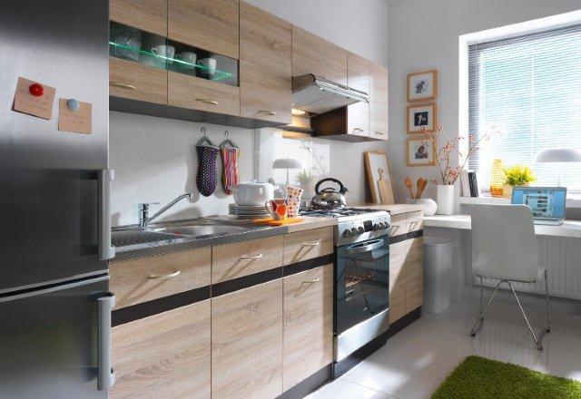 Ten sam model kuchni – różne kolory  Meble kuchenne -> Kuchnia Junona Line