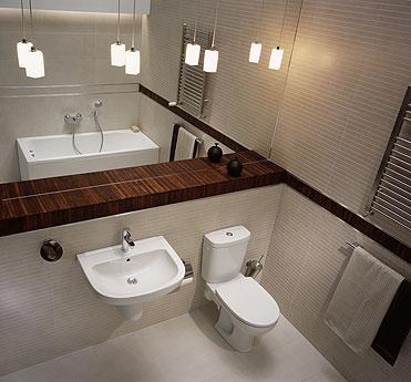 Łazienka Primo - urządzenia marki Sanitec Koło