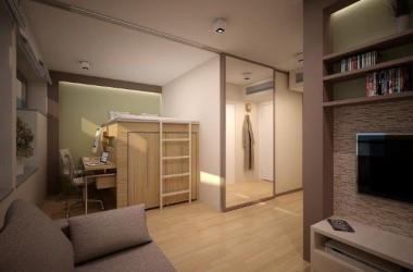 Bardzo małe mieszkanie – dobrze urządzone 12 metrów kwadratowych