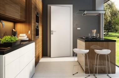 Jakie wybrać drzwi do nowoczesnej kuchni?