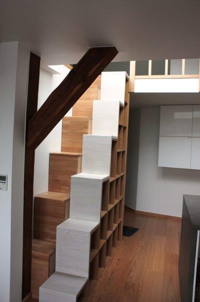 Antresola schody