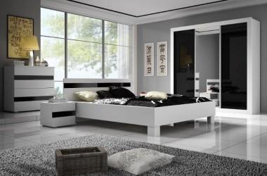 Czarno-białe meble do pokoju