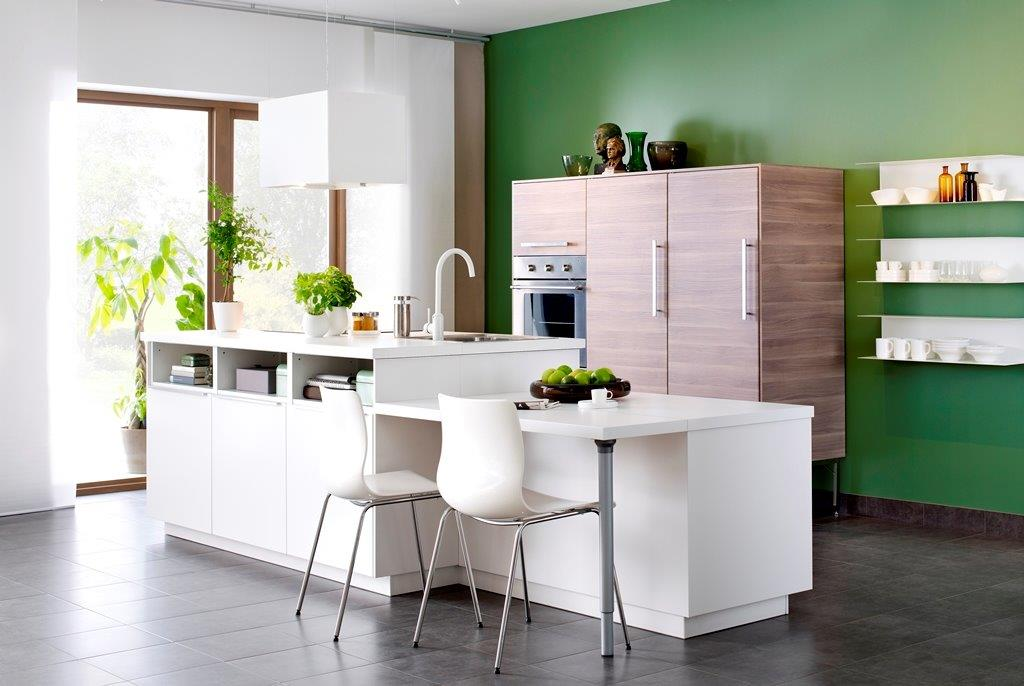 Meble kuchenne do małej kuchni; nowości IKEA  Meble kuchenne -> Kuchnia Z Wyspą Ikea