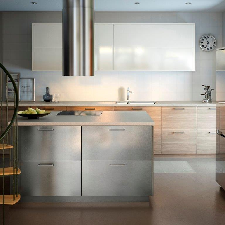 Meble kuchenne do małej kuchni; nowości IKEA  Meble kuchenne -> Kuchnia Ikea Metod