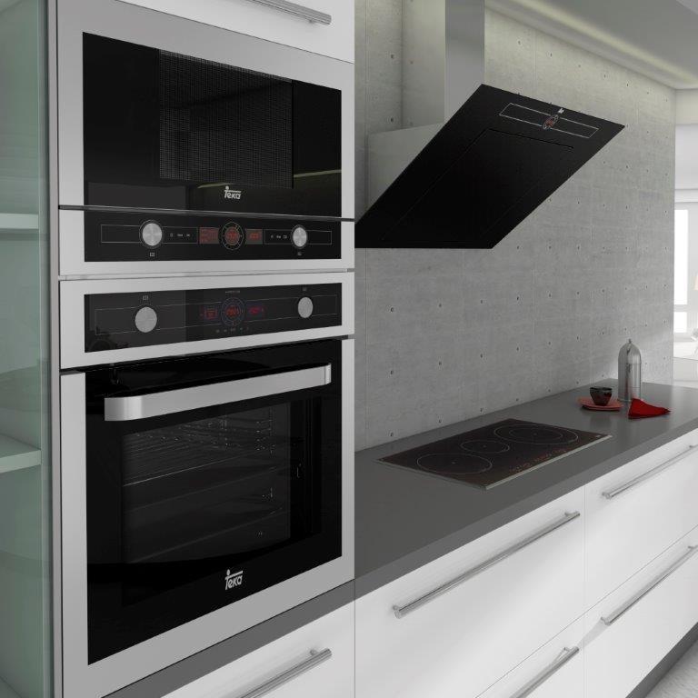 Piekarnik do zabudowy Teka z systemem czyszczenia   -> Kuchnie Gazowe Do Zabudowy Z Piekarnikiem Elektrycznym