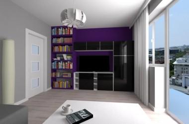 Pokój i sypialnia w jednym