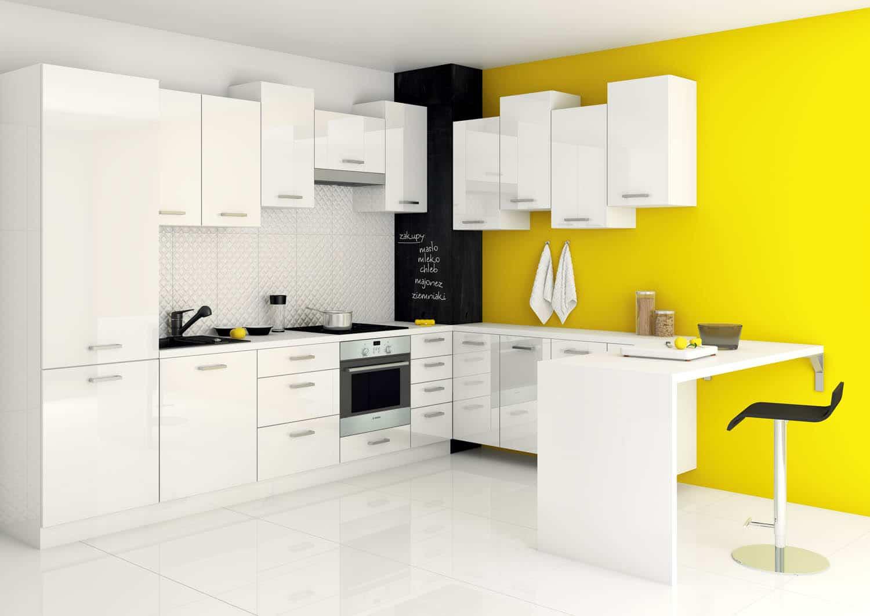 Nowoczesne meble kuchenne; opinie projektanta  Kuchnia -> Kuchnia Nowoczesna Grafitowa