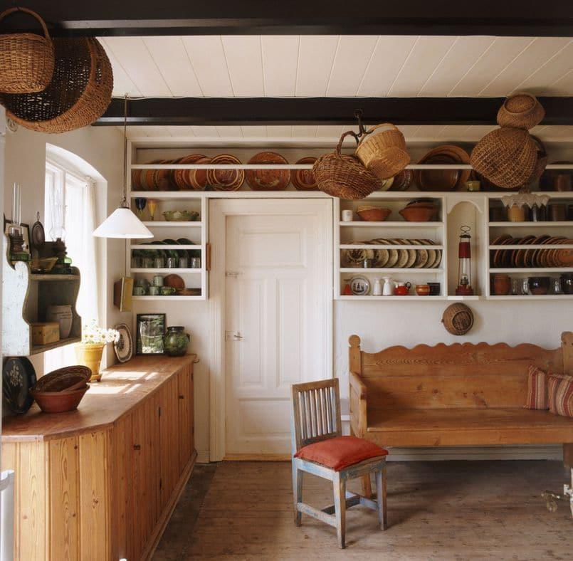 Kuchnia w stylu rustykalnym  Kuchnia