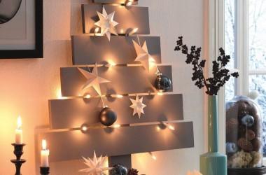 Choinka bożonarodzeniowa z deseczek – jak zrobić samemu