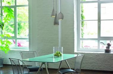Moda na beton – lampy betonowe i blaty w stylu loft