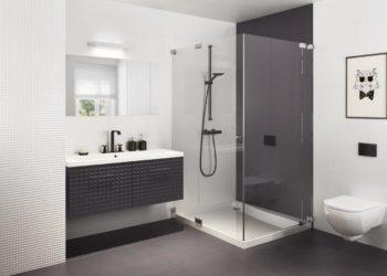 Czarno-biała łazienka – czy te kolory są modne?