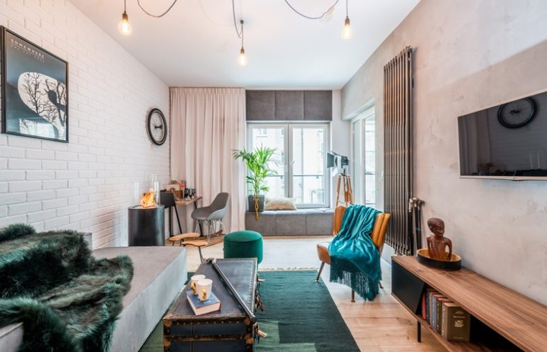 Mieszkanie w stylu loft w trzech wersjach