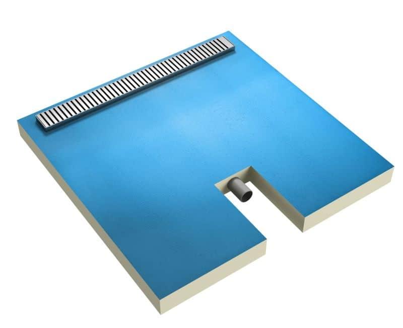 Płyta brodzikowa Ultrament z liniowym odpływem zintegrowanym Sugerowana cena: od 1100-2000 zł (w zależności od wielkości)