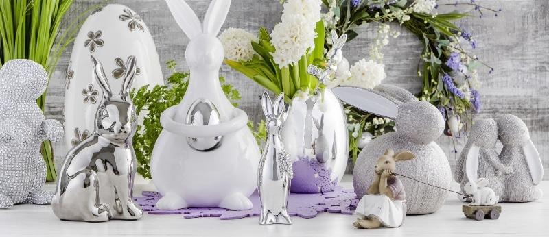 home&you Wielkanoc 2017 w szarościach z połyskiem
