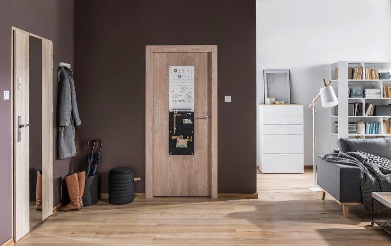 Drzwi SMART z tablicą
