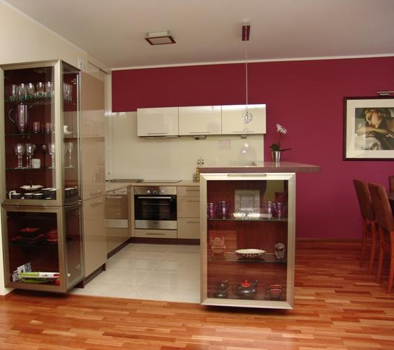 Kolory, gdy pokój, kuchnia i jadalnia są razem  Małe   -> Kuchnia Z Salonem Kolory Ścian