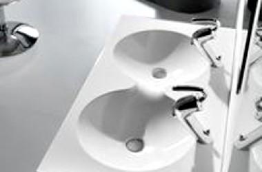 Podwójna umywalka