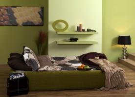 Jakie kolory do zielonych ścian?