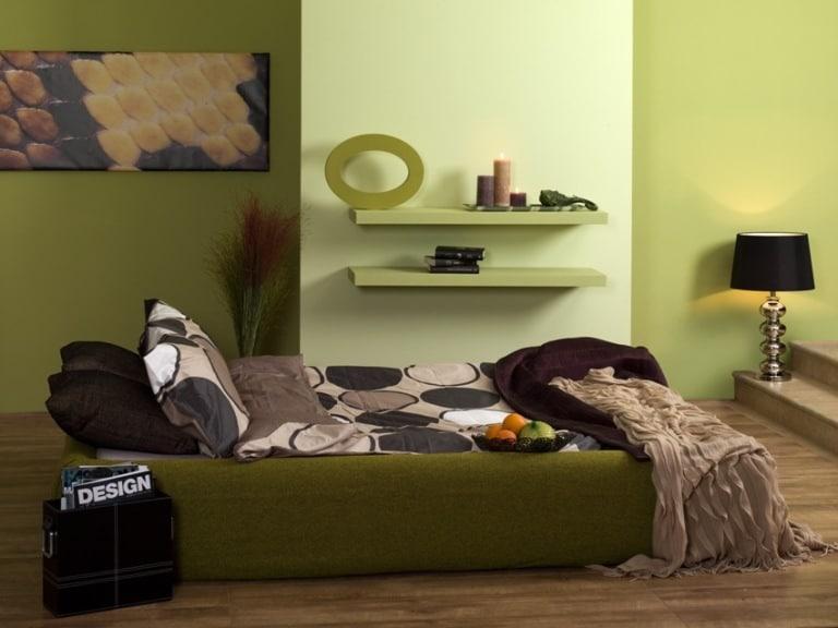 Dekoral Ewa Minge wnętrze w zieleniach