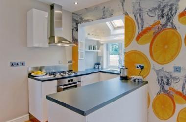 Fototapeta do kuchni – zamiast glazury