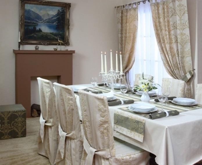 Odisea - sukienki na krzesła marki Dekoria.pl