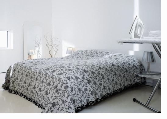 Electrolux żelazko parowe , aranżacja w sypialni