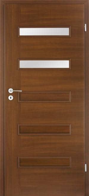 Drzwi Do łazienki W Kolorach Drewna Drzwi W Mieszkaniu