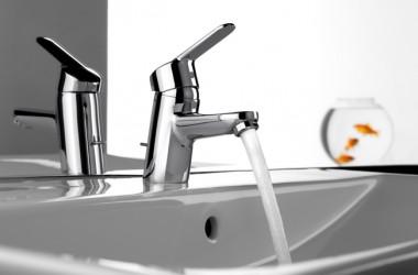 Bateria umywalkowa oszczędza wodę