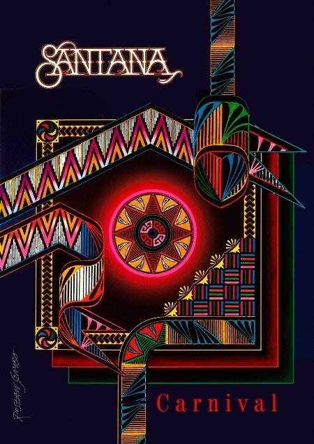 Vox plakat Santana