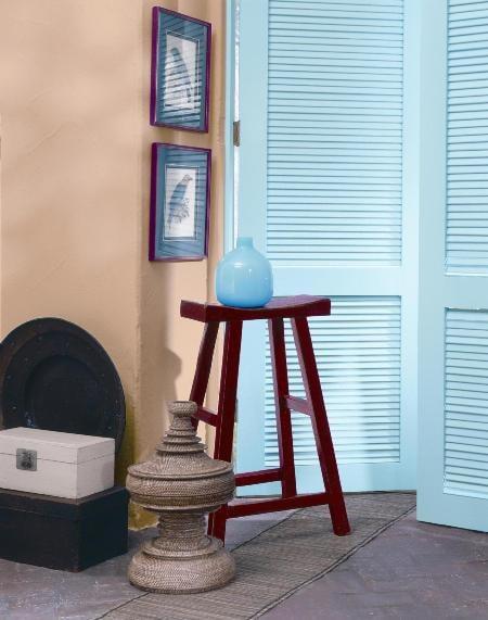 Farba Benjamin Moore, gruntoemalia Iron, pomalowane okiennice
