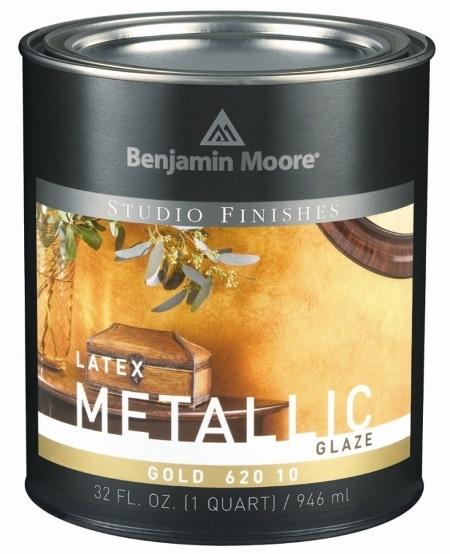 Bejca do ścian, metalizująca, Benjamin Moore - Metallic Glaze