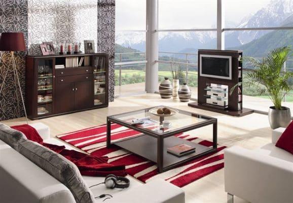 Meble Klose, seria Quattro, meble do pokoju dziennego, do kącika tv