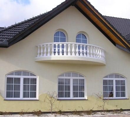 Okna PVC, OknoPlus, budynek